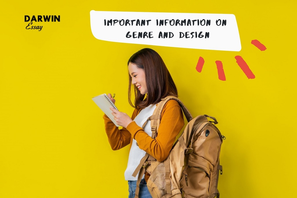 Banner Useful and informative writing tips about Genre and Design.