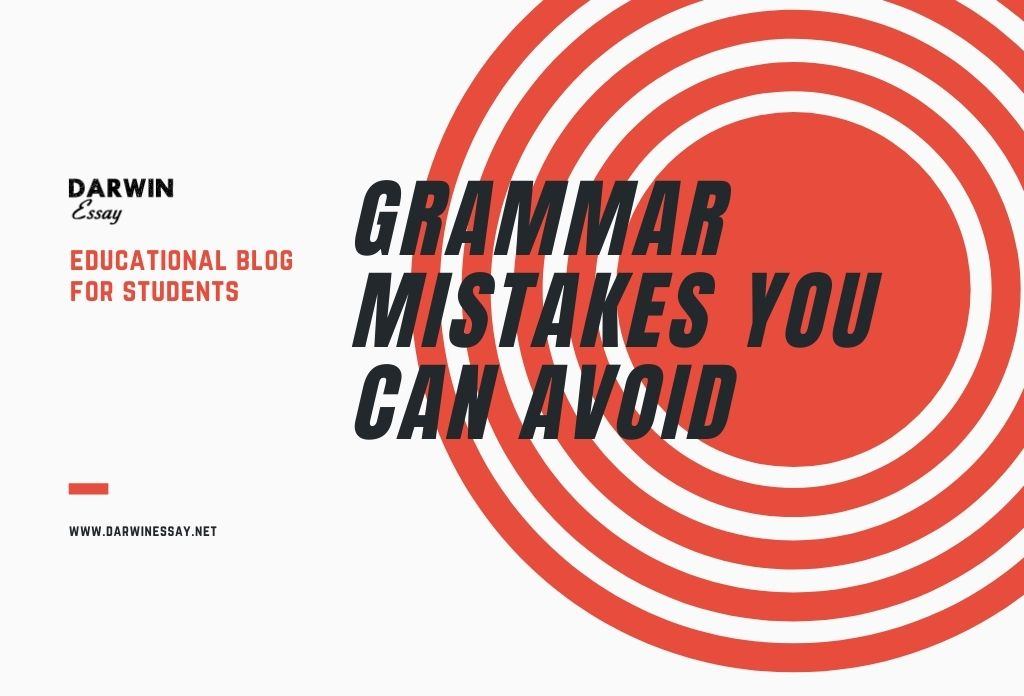 Five Simple Grammar Mistakes You Can Avoid